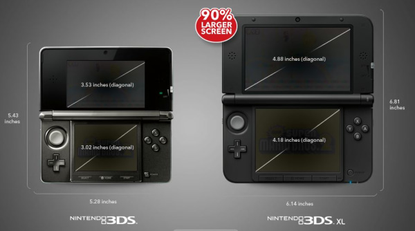 Nintendo 3DS and 3DS XL