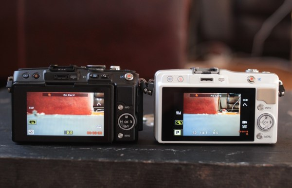 Olympus E-PL5 and E-PM2