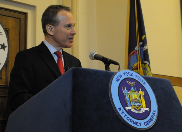 New York State Attorney General Eric T. Schneiderman. 2011 photo.