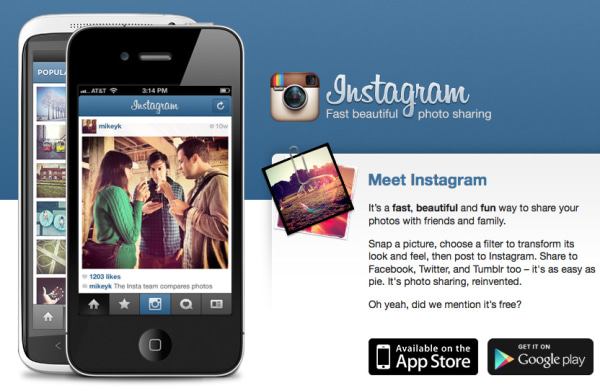 Instagram website