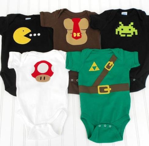 gamer baby onsies
