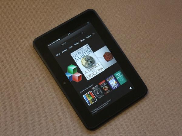 Amazon's 7-inch Kindle Fire HD