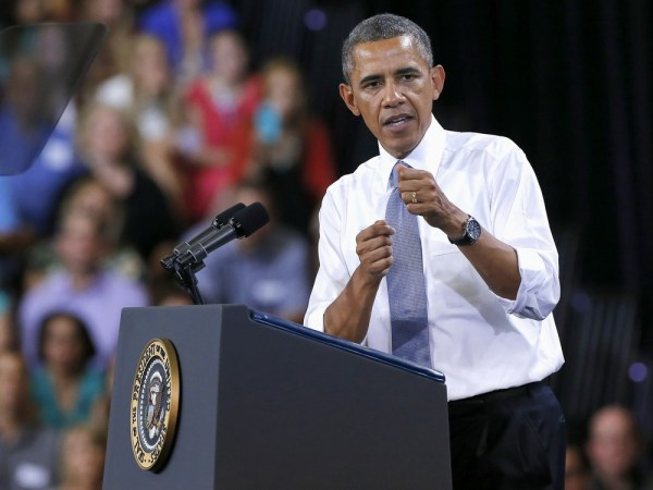 President Barack Obama urged the end of Freddie Mac and Fannie Mae on Tuesday during a speech in Phoenix.