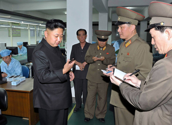 (FILES) This undated file picture released by North Korea's official Korean Central News Agency (KCNA) on August 11, 2013 shows North Korean leader Ki...