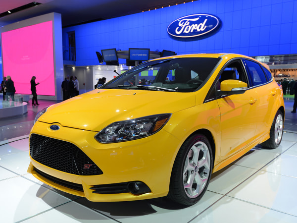 The Ford Focus ST on display at the 2013 North American International Auto Show in Detroit, Michigan, January 15, 2013. AFP PHOTO/Stan HONDA        (P...
