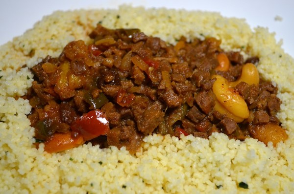 Image: Moroccan beef tagine