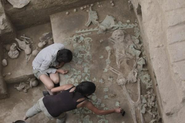 Image: Moche tomb