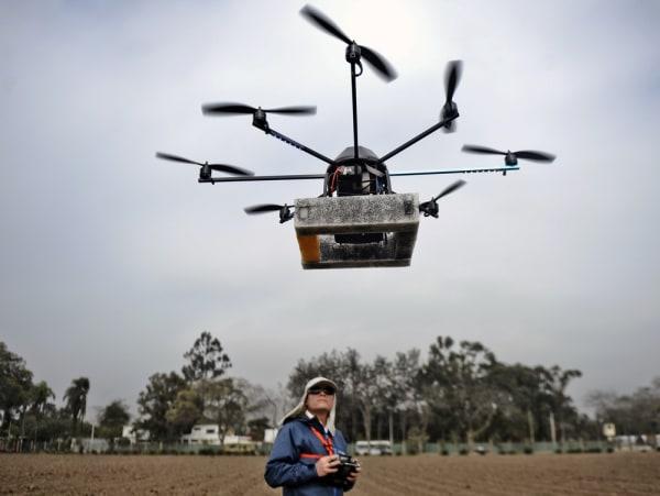Image: Drone in Peru