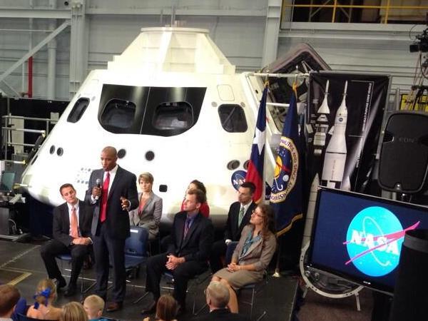 Image: Astronaut candidates