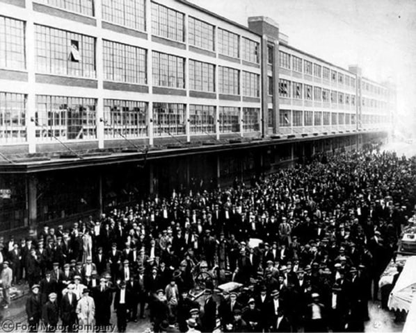 Designed by legendary architect Albert Kahn and once known as the Crystal Palace because of its large windows and abundant natural light, the Highland Park Assembly Plant was actually the second to produce the Model T.