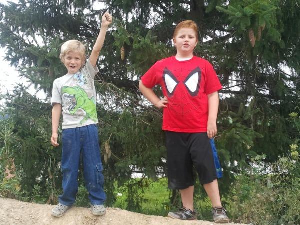 Aiden and Evann Gallagher