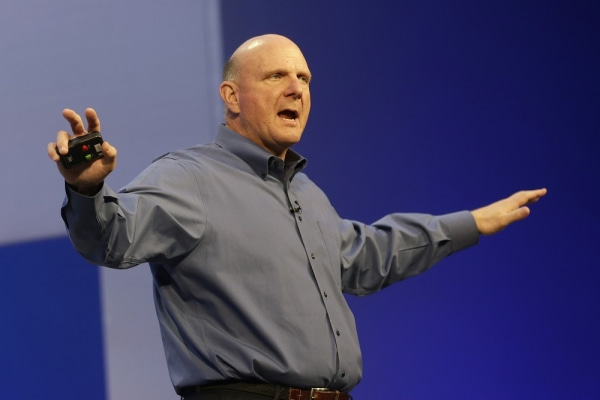 The long farewell. Microsoft announced Friday that CEO Steve Ballmer will be retiring in 12 months as the company seeks a replacement. Shares surged o...