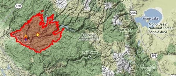 Image: Rim Fire map