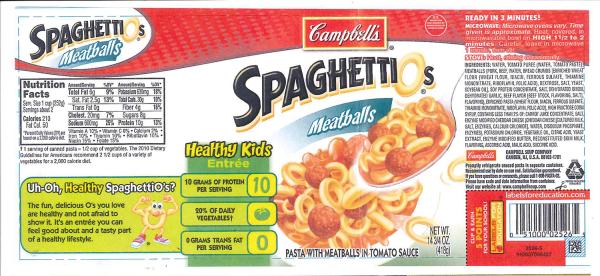 spaghettios
