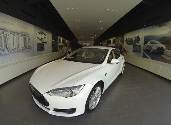 IMAGE:Tesla Model S electric car