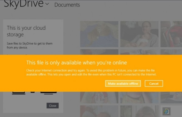 IMAGE: SkyDrive