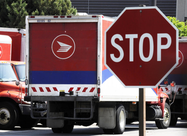 Canada's postal service will phase out urban home delivery within five years and raise the cost of postage stamps to try to stem soaring losses.