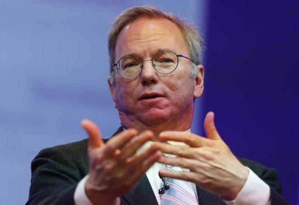 IMAGE: Google Executive Chairman Eric Schmidt