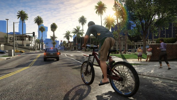 """Grand Theft Auto V"" finally arrived for legions of impatient fans this fall."
