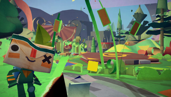 """Tearaway"" is the next great kid-friendly platformer from the makers of ""LittleBigPlanet."""