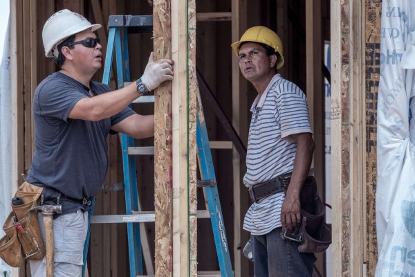 Housing construction took off in November, despite higher mortgage rates, government data showed.