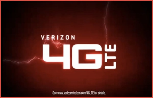 IMAGE: Verizon 4G LTE