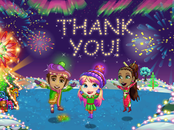 """FarmVille"" players raised $1 million in charity for Feeding America last month during a holiday-themed expansion to the social game."
