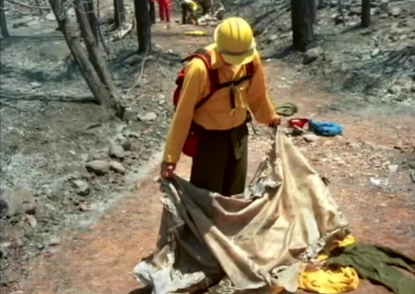 Image: Fire shelter
