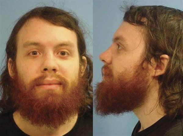 Andrew Auernheimer is seen in this police booking photograph taken by the Fayetteville, Arkansas Police Department June 15, 2010 and released To Reute...