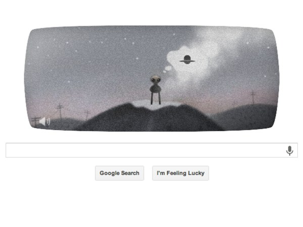 In its latest Google Doodle, the Internet company commemorated the Roswell UFO Incident with an ambitious point-and-click adventure game.