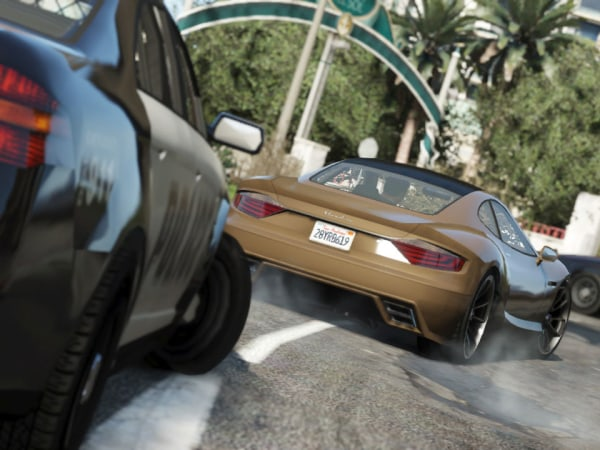 "Rockstar Games on Tuesday released the first gameplay trailer for its highly anticipated ""Grand Theft Auto V."""