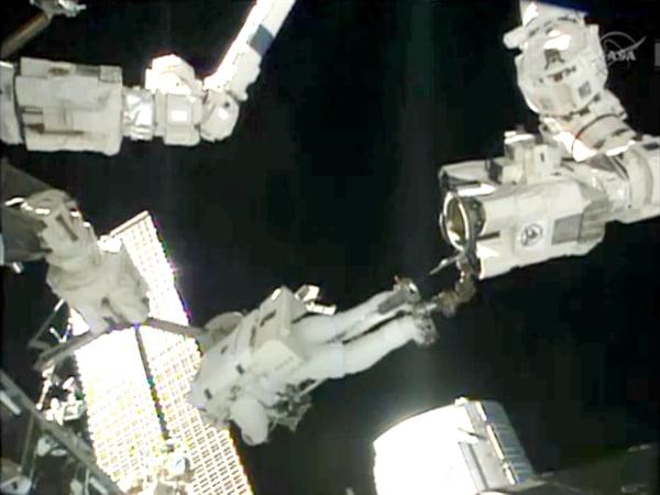 Image: Parmitano in space