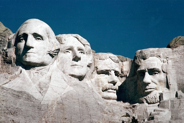 ** FILE **The Mount Rushmore Memorial in the Black Hills area of Keystone, S.D., is shown in this 1986 file photo. Technology that provides precise da...