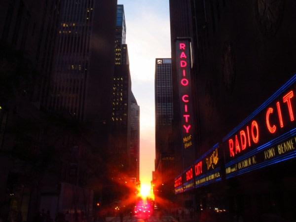 Image: Pre-Manhattanhenge