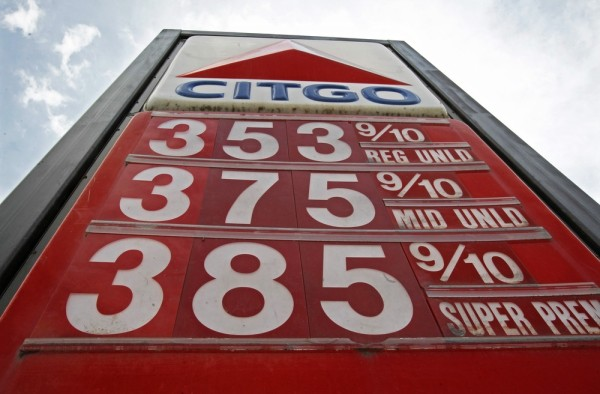 Image: Gas prices