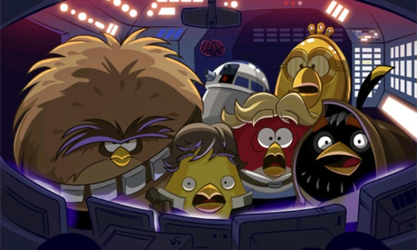 """Rovio is bringing """"Angry Birds Star Wars"""" to major consoles this fall, the company announced Thursday."""