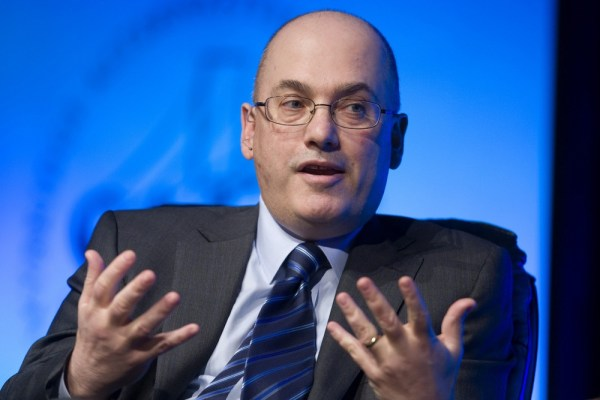 Hedge fund manager Steven A. Cohen, founder and chairman of SAC Capital Advisors, responds to a question during a conference in Las Vegas, Nevada in t...