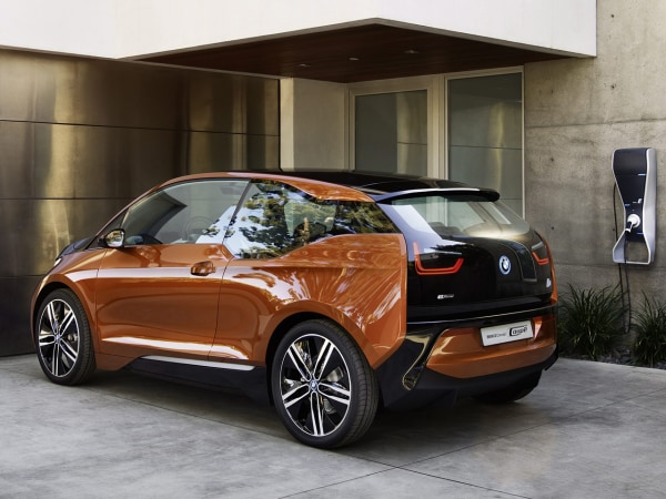 epa03699876 (HANDNOUT)Ahandout provided by BMW dated November 2012 made available on 14 May 2013 shows a BMW i3 Coupe concert car in Munich,Germ...