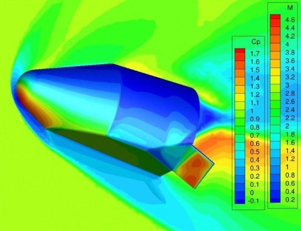 Image: Space Vehicle simulation