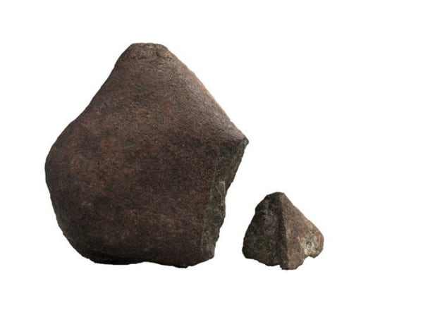 Martian meteorites like this one may not be as old as previously thought, according to a study published July 24, 2013.