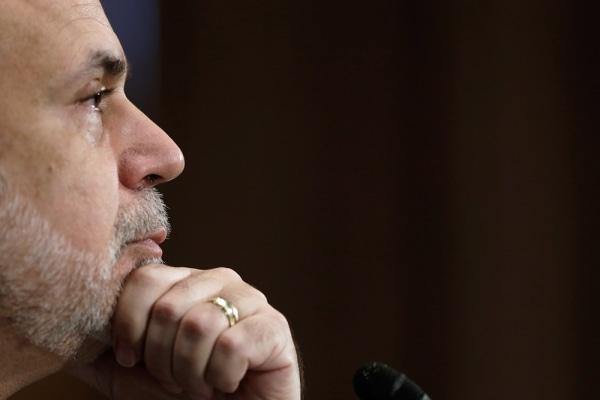Federal Reserve Board Chairman Ben Bernanke testifies before the Senate Banking, Housing and Urban Affairs Committee July 18, 2013 in Washington, DC.