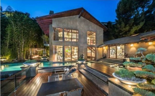 Image: Scottish DJ Calvin Harris just purchased a $7 million, Zen-inspired mansion overlooking celebrity-central Hollywood Hills.
