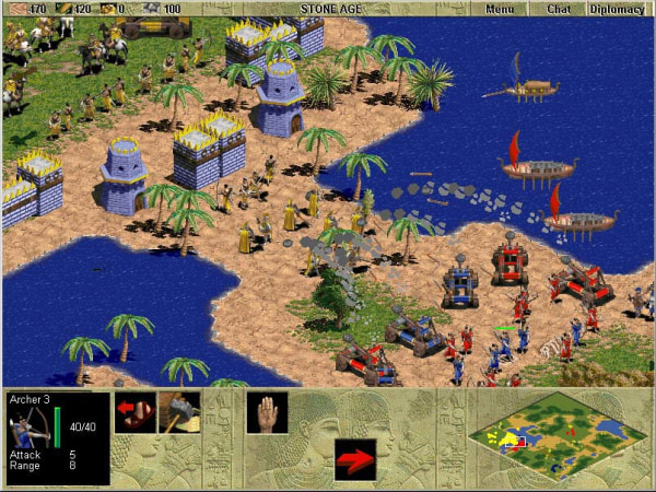 """Microsoft is developing a mobile version of its classic PC strategy game """"Age of Empires"""" for tablets and smartphones in partnership with the Japanese developer KLab, the two companies confirmed Monday."""