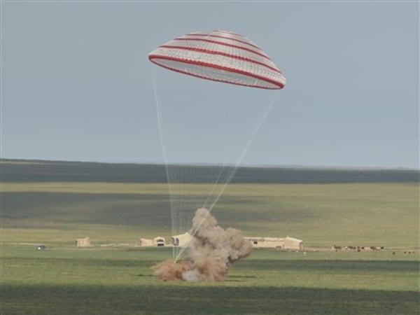 Image: Shenzhou 10 landing