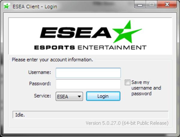 ESEA login