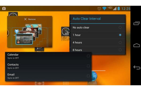Android performance lag slide