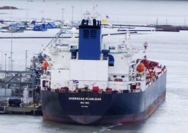 Attacked Vessel: Overseas Pearlmar; National Flag: Marshall Islands;                   Vessel Type: Tanker; Date: Jan 23, 2013