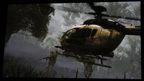 "Shot from the ""Call of Duty: Ghosts"" trailer running on Xbox One hardware"