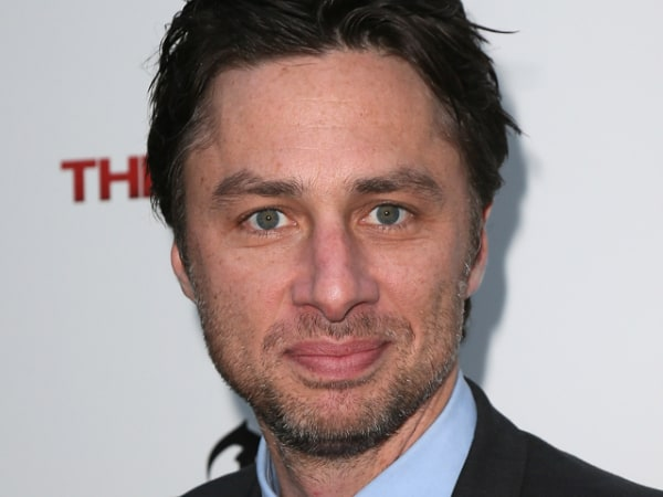 """Former """"Scrubs"""" star Zach Braff says he'd return to television if he really wanted to make money, not """"passion project"""" indie films."""