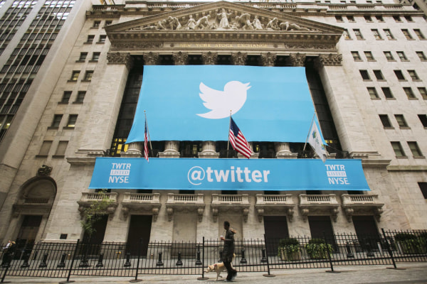 Twitter shares made their trading debut Thursday, opening at $45.10, up 73 percent from their IPO price of $26.